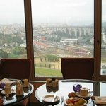 Breakfast at Executive club lounge