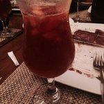 Best sangria at Hunter Steak house!