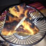 Burned Bread for Room Service Dinner