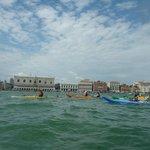 paleando en Venecia