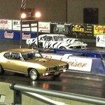 Drag racing at the Pontiac Nationals 2014