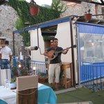 Musique greque pour le repas en amoureux