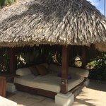 Private pool cabana