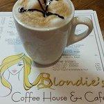 Cappuccino and Blondie's Menu