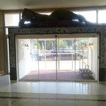 le hall de l'hôtel