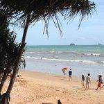 Ao Nang Beach right outside the hotel