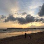 Ao Nang beach (right outside the hotel)
