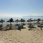 direkter Zugang vom Hotel zum Strand