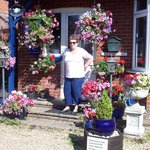 Jane (cousin) at Rosedale B&B July 2014