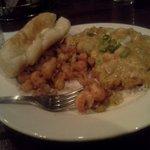 fried crawfish tails and etoufee