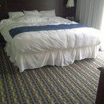 Smaller bedroom, very nice room.