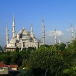 Blue Mosque from the roof terrace