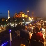 Hagia Sophia from the roof terrace