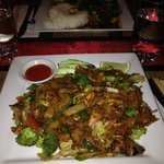 Pad See Cew with Chicken