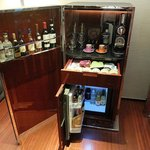 Luggage-like Mini Bar