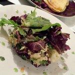 Et la fameuse salade de quinoa et fromage de chèvre, un régal !