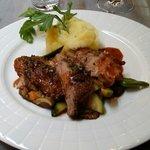 Cochon ibérique + purée de pommes de terre
