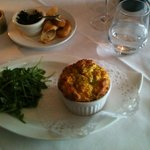 crab souffle - consistently good