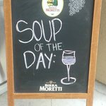 Soup of the day, served everyday ;)