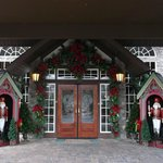 Entrance to Christmas Place