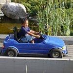 Aktiviteter med bilkjøring for de små