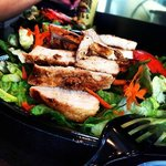 Try a salad with chicken