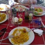 Paella en Playa Burriana