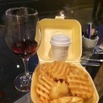 lattice fries! Amazing!