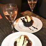 Tasty desserts.