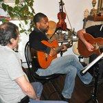 Informal but excellent Corsican folk music.