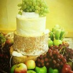 Wedding cheese cakes are available to order