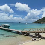 Our Chariot for BYO, docked in Grand Case