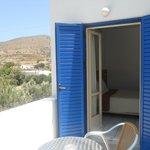 Balcony of room 4