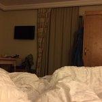 The bedroom in Room 3
