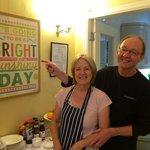 Our wonderful hosts Dave & Brenda!