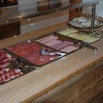 Frühstücksbuffet - Fleisch / Käse