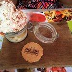 Tiramisu nutella, poire et mascarpone