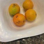 Fruit aan buffet, s'middags niet op, is 's avonds terug aan buffet