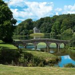 The lovely views on offer at Stourhead