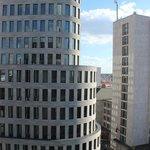 Blick aus einem Hotelzimmer
