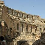 Rzymskie koloseum w Tunezji