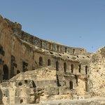 Ruiny rzymskiego koloseum
