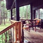 Cosmo Gordon front porch