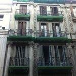 Vista dal balconcino, vicolo silenzioso