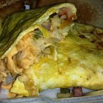 Farmers omelet takeout