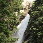 Ouzel Falls with the telephoto lense