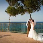 Our perfect Zante wedding at the balcony