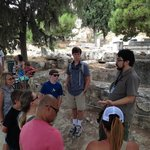 Hermes teaching us about the Acropolis
