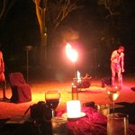 Flames of the Forest, musical performance