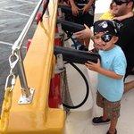 My little pirate!